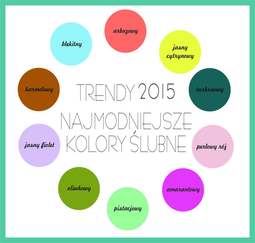 Trendy ślubne na 2015!
