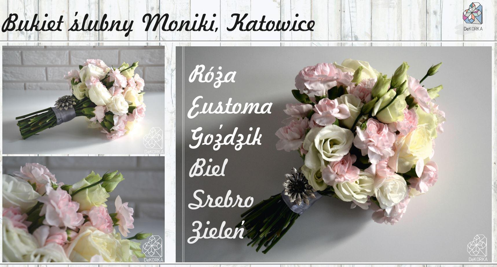Bukiet ślubny Moniki