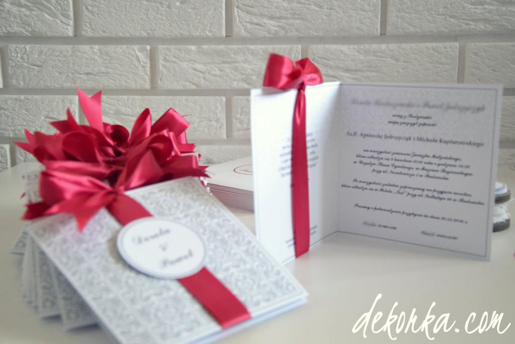 dekorka.com zaproszenia katowice