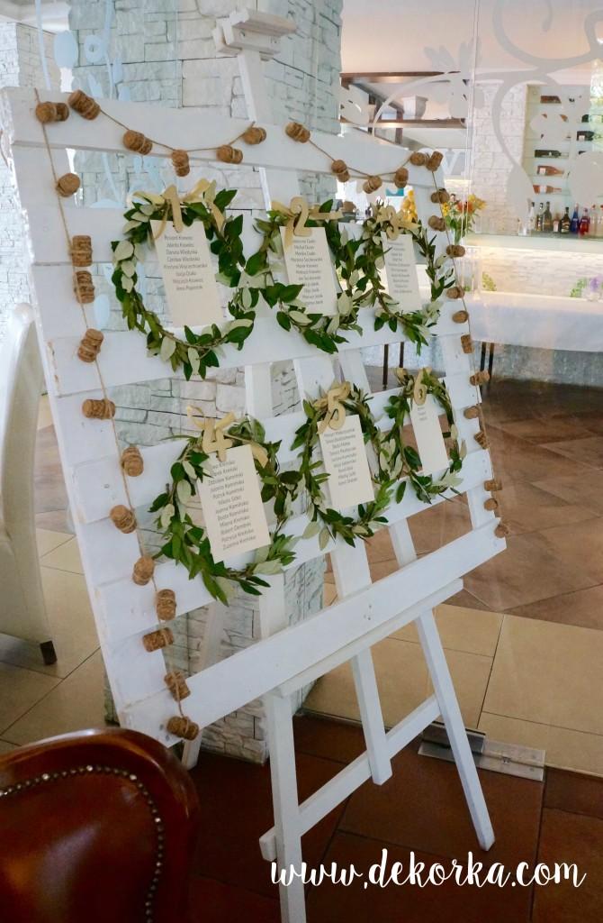 dekorka tablica gosci