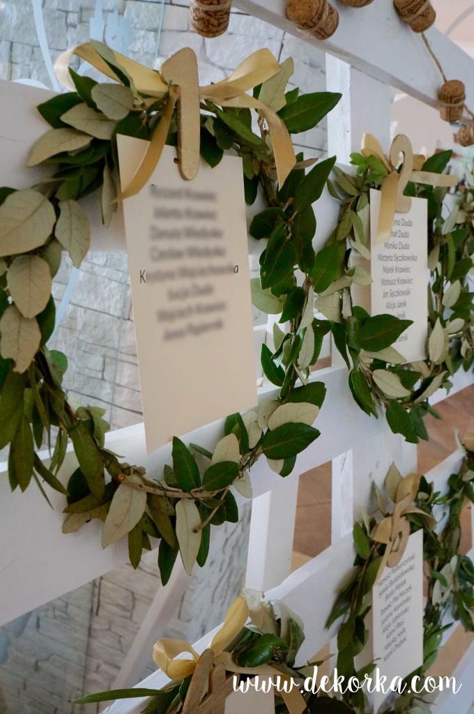 wianki oliwne dekorka