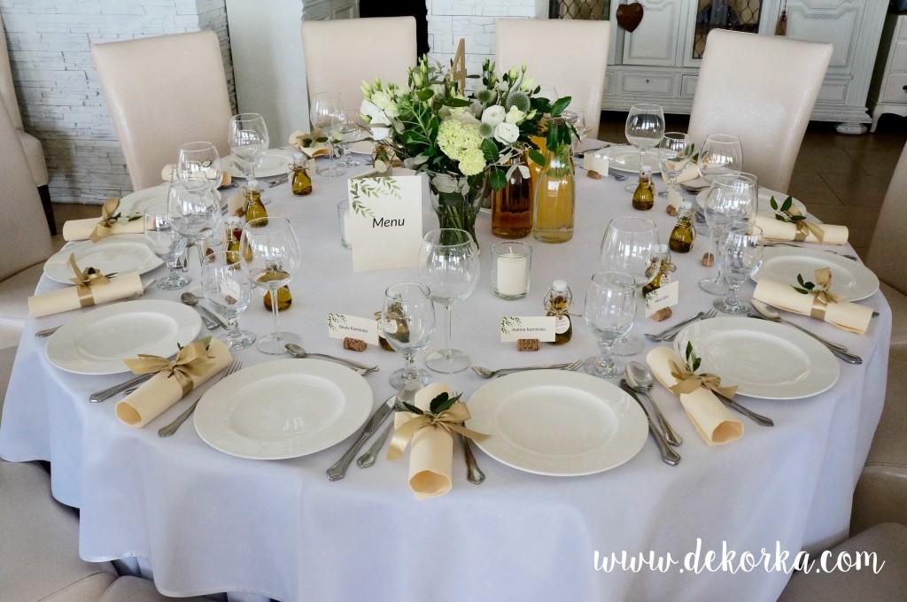wysroj ekologiczny wesele dekoracja dekorka katowice