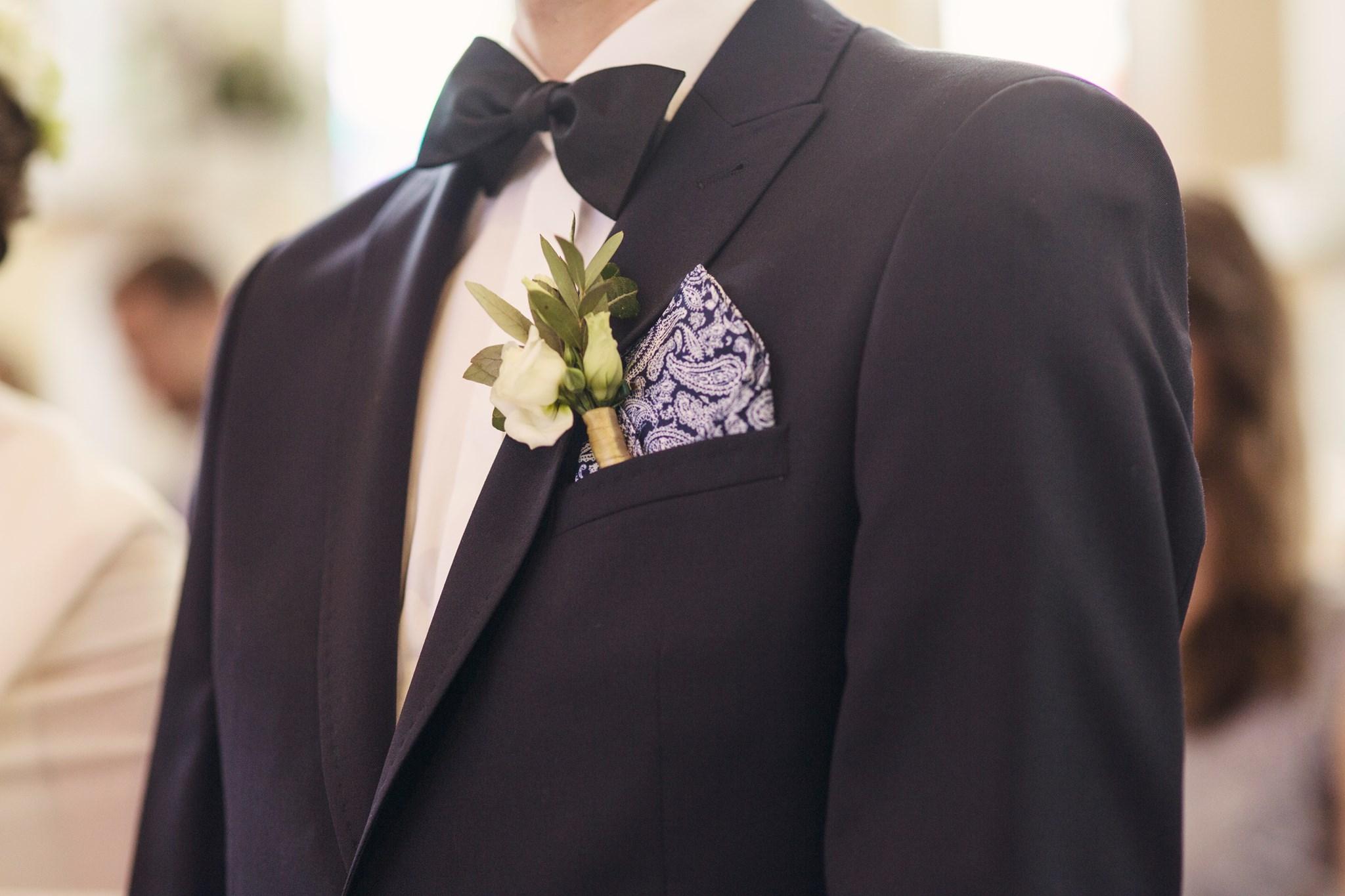 dekorka.com katowice oprawa florystyczna wesela . butonierka