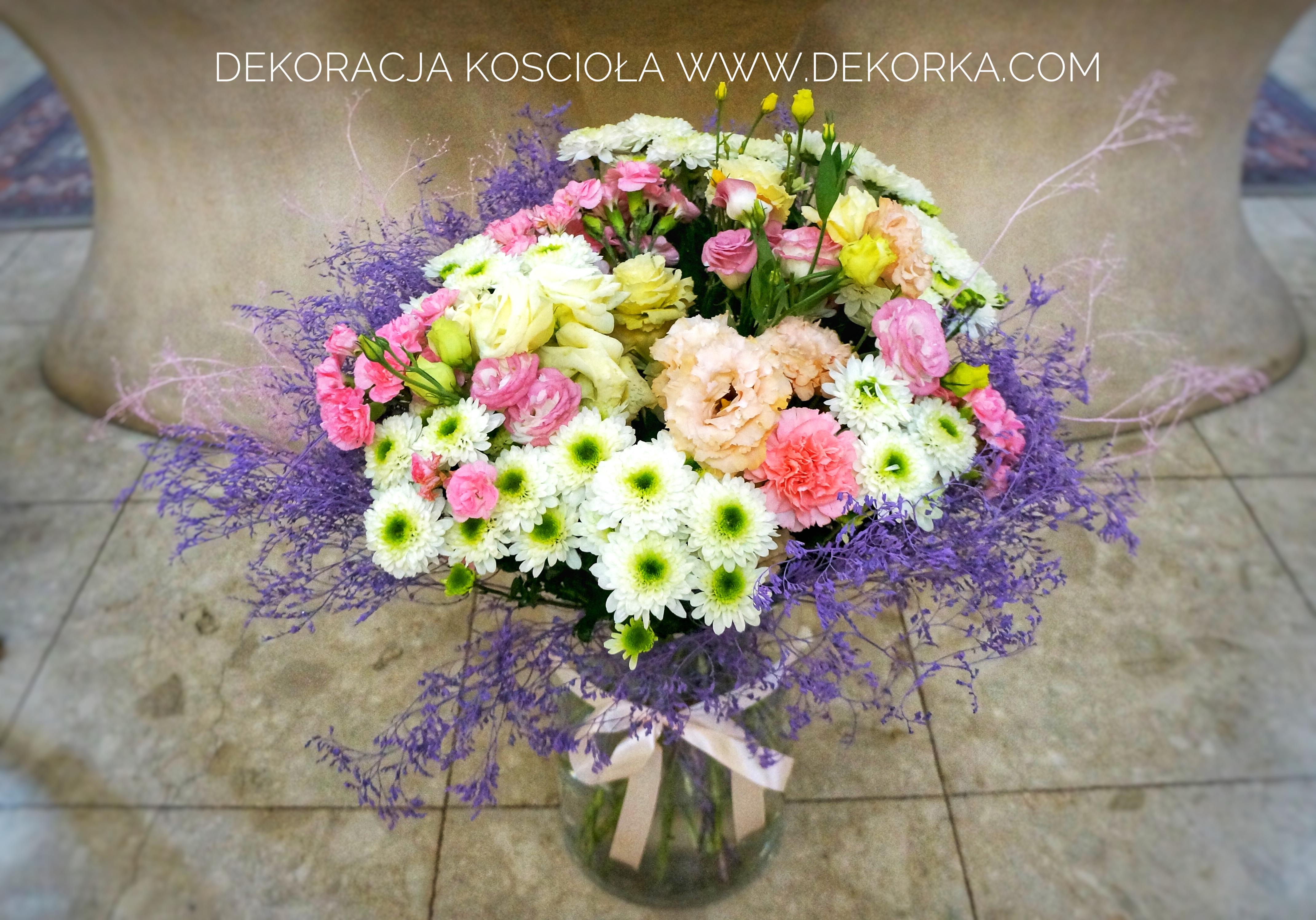 dekoracja kościoła wesele dekorka.com katowice śląsk