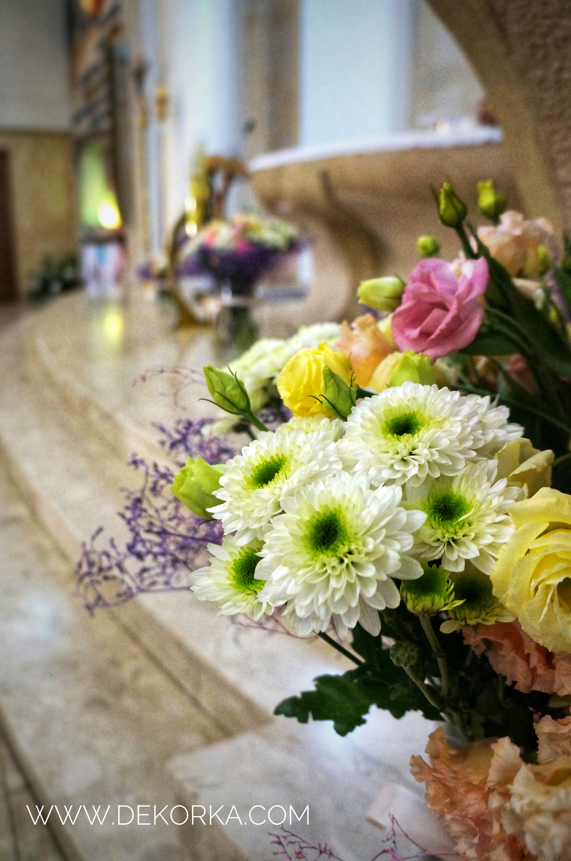 ślun katowice dekoratorki najlepsze na śląsku dekoracja kościoła