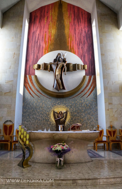 dekoracje kościół ślub katowice
