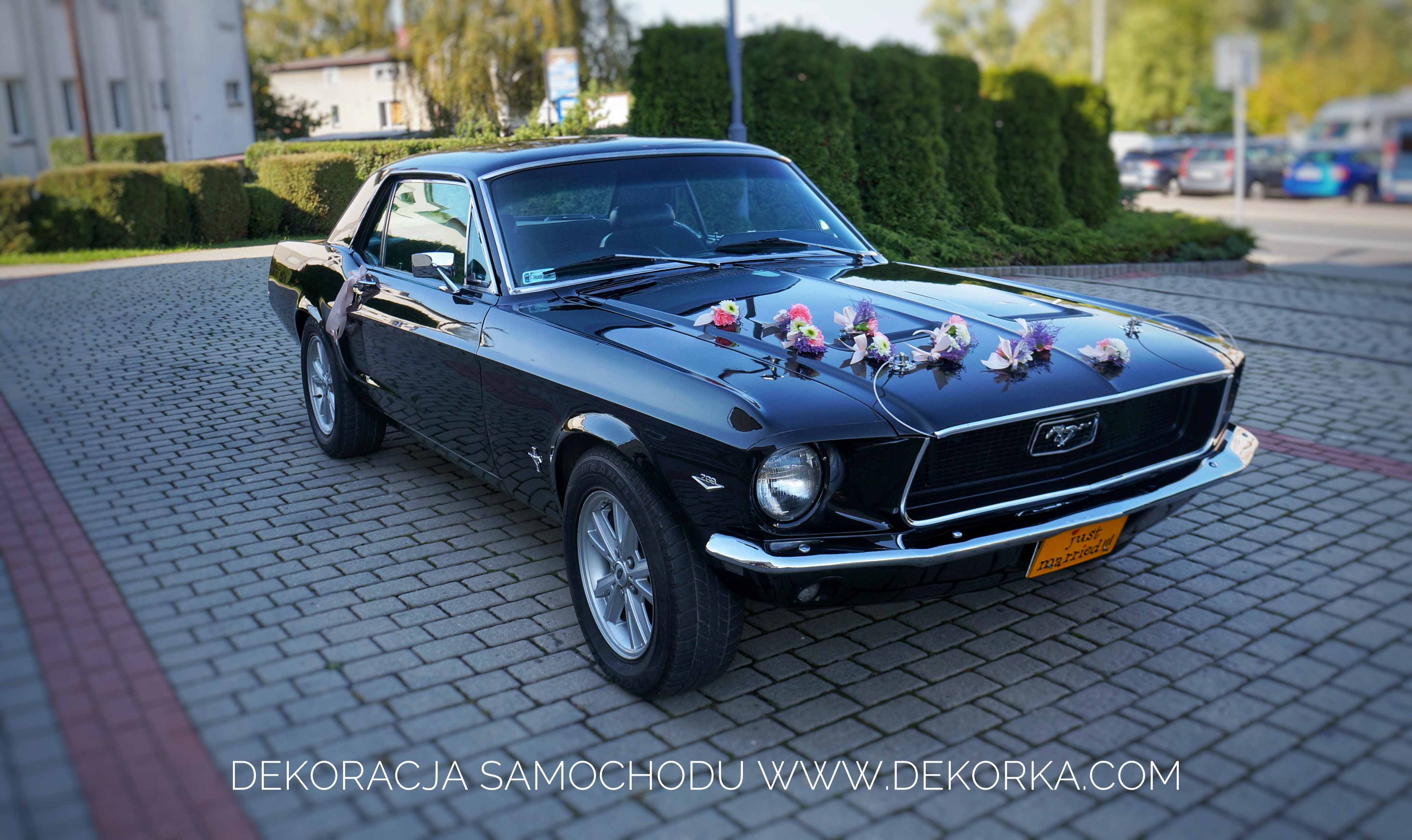 dekoracja samochodu dekorka.com