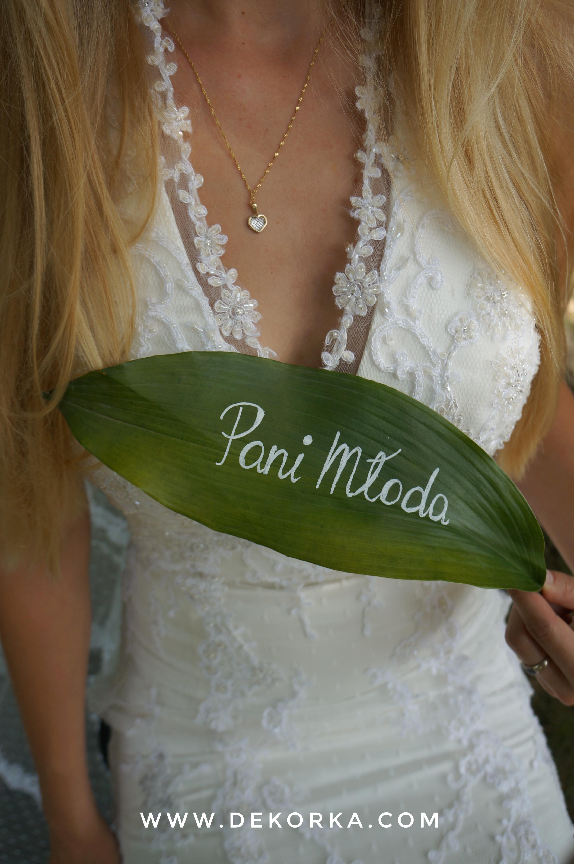 styl tropikalny wesele dekorka tychy katowice