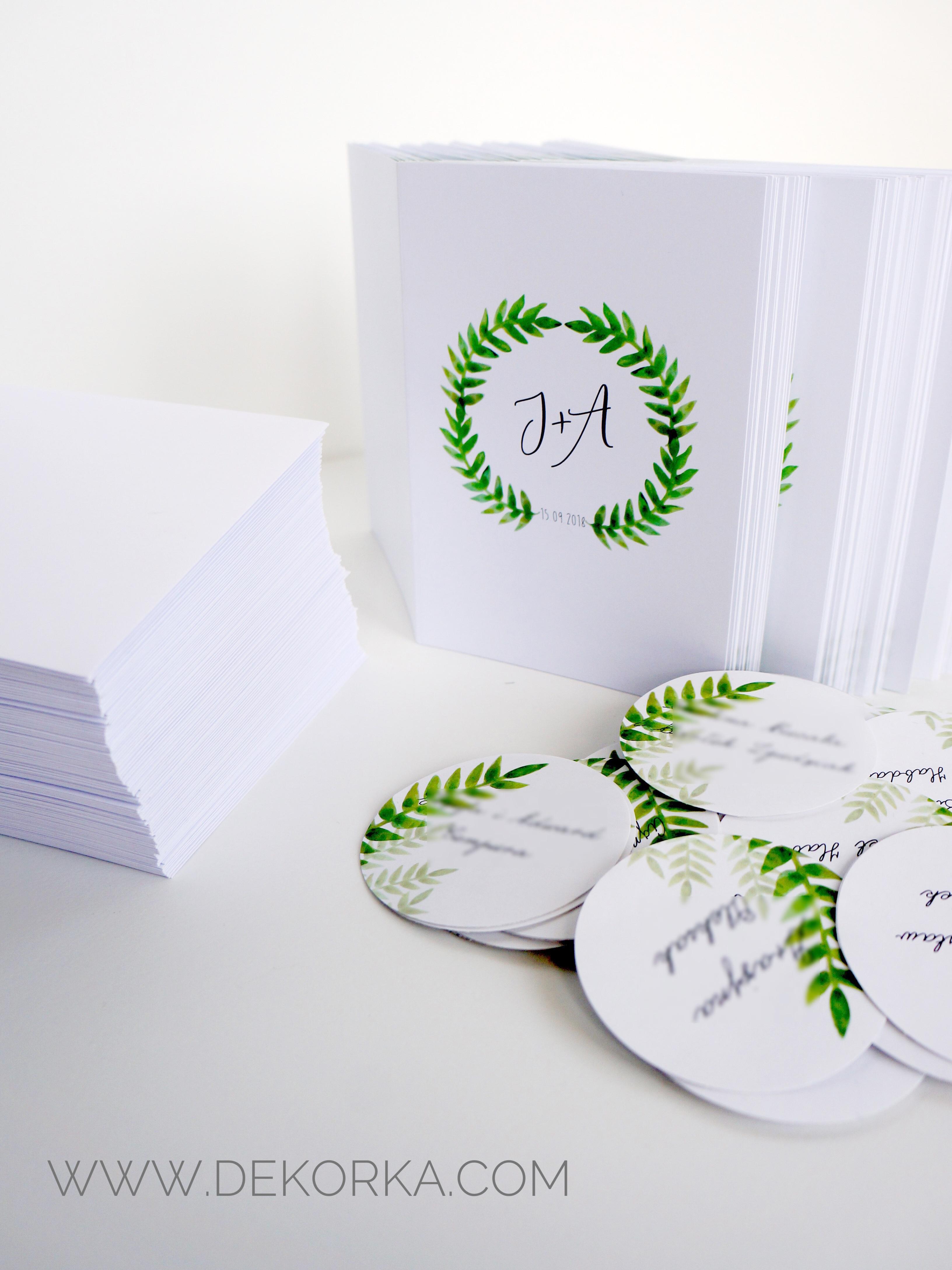 dekorka.com paprocie zielone