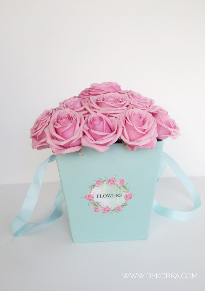 flower box dekorka.com katowice