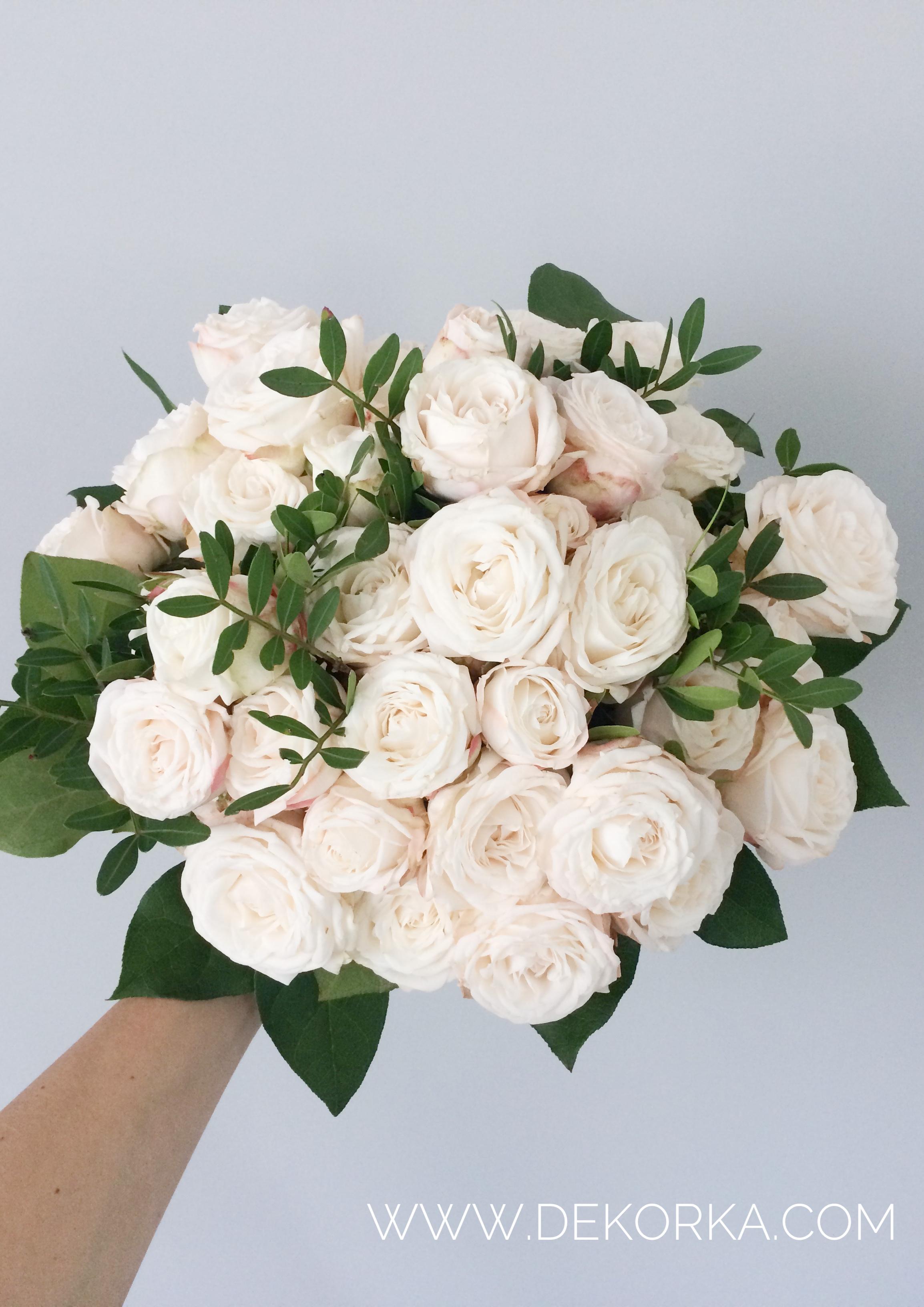 bukiet z róży gałązkowej