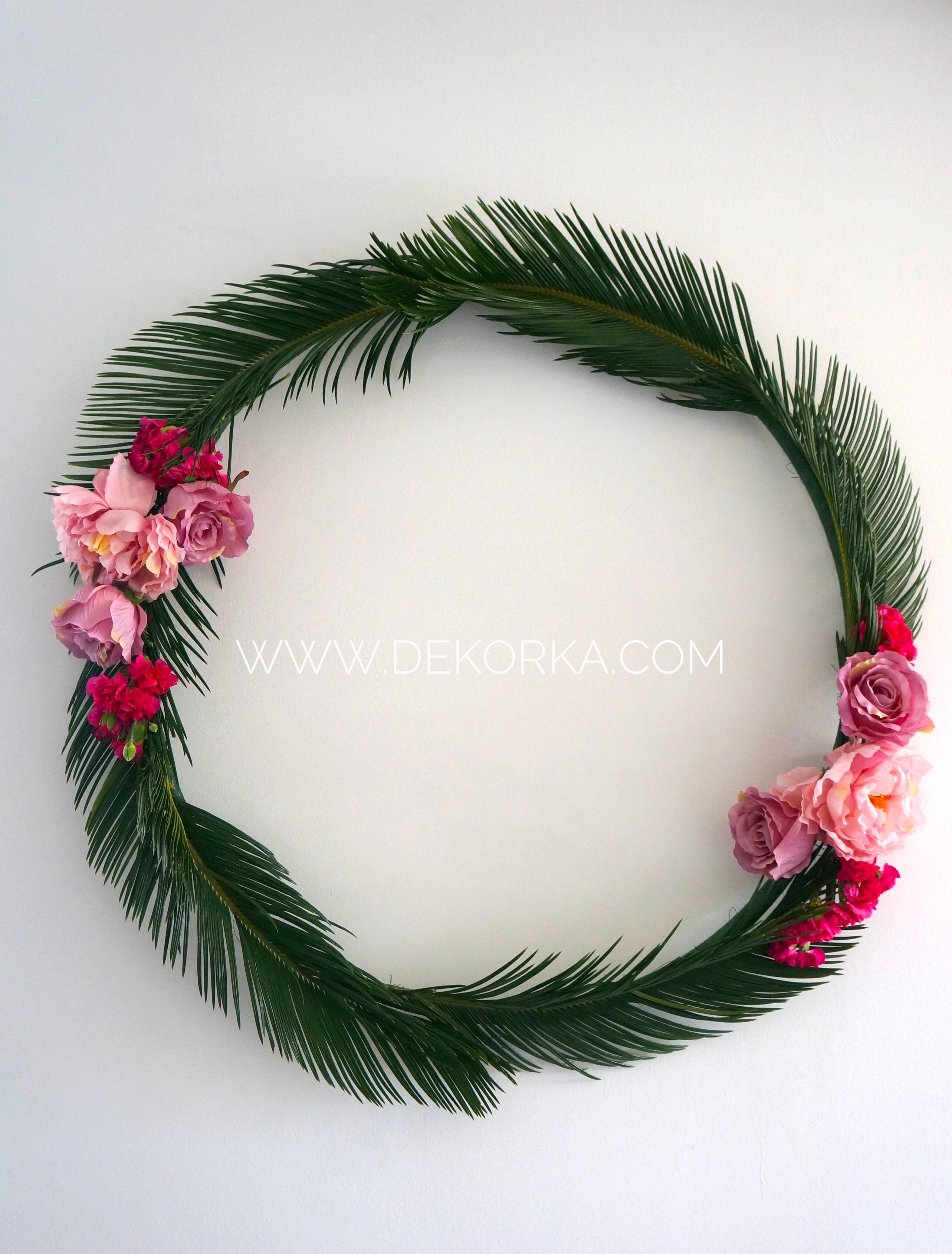 palmy egzotyczne wesele dekkora katwoice slask