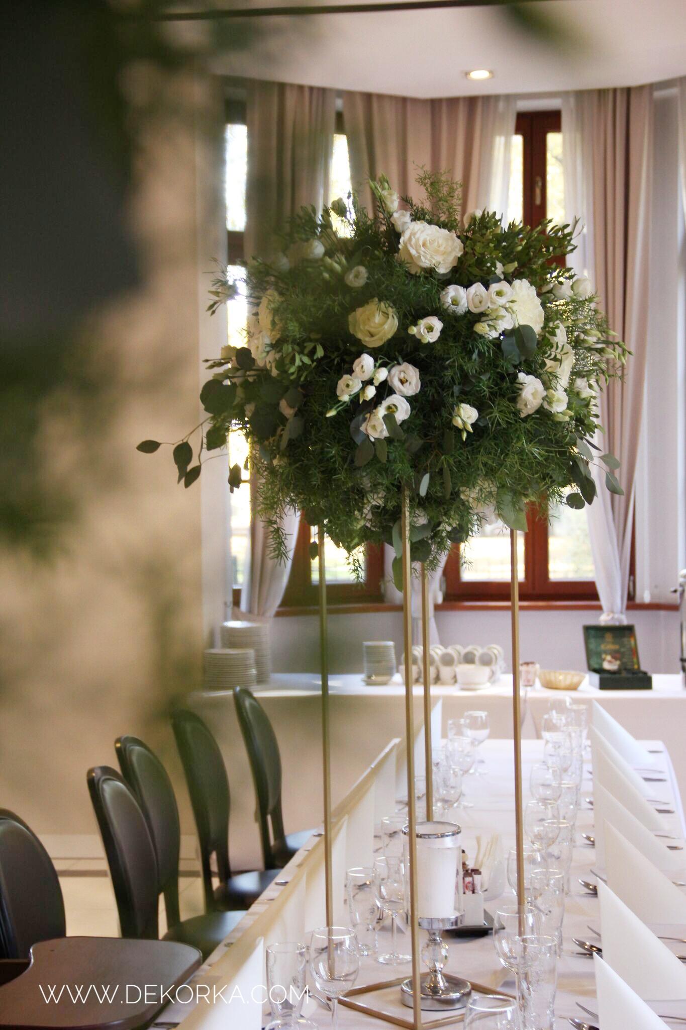 dekoracje ślubne florysta dekorka.com