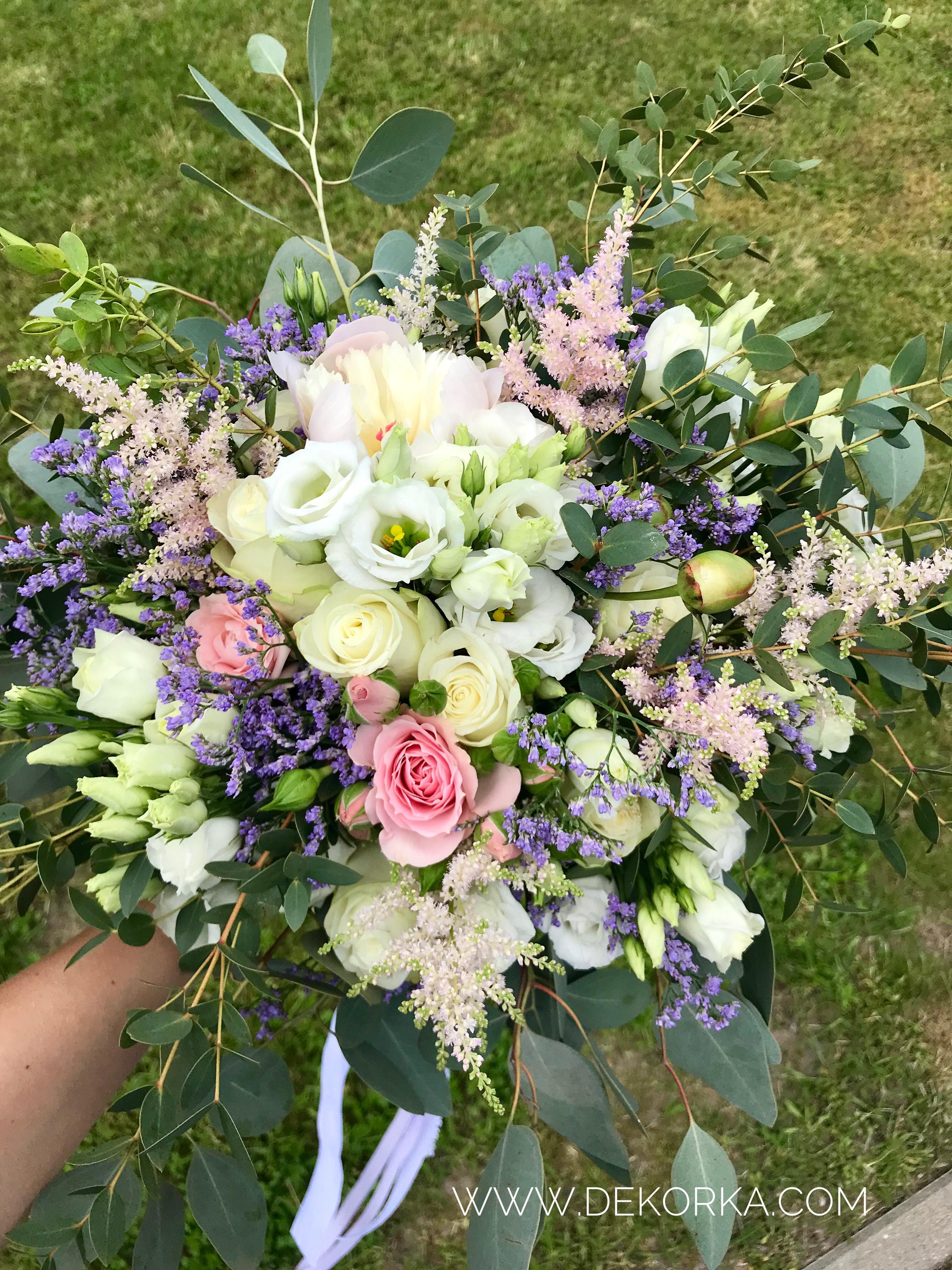 bukiet ślubny dekorka katowice